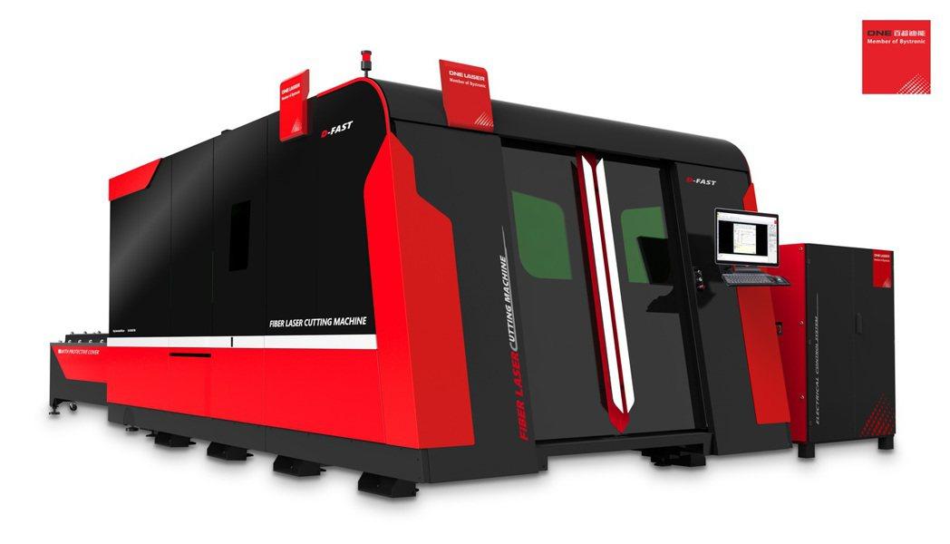 百超迪能全新D-FAST光纖雷射系列產品,將可協助國內鈑金雷射加工業升級轉型。 ...