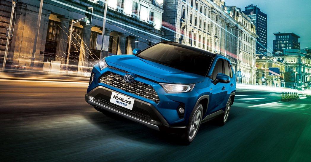 TOYOTA RAV4帶動進口車陣營銷售成績。 圖/和泰汽車提供