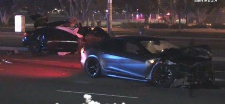 特斯拉 Model S再度遭遇車禍 難道又是自動駕駛?