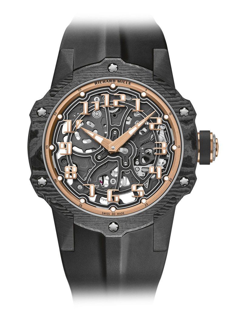 RICHARD MILLE RM33-02自動上鍊超薄腕表,Carbon TPT...