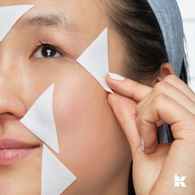 Kiehl's契爾氏三角形面膜,能針對部位加強修復。圖/Kiehls提供