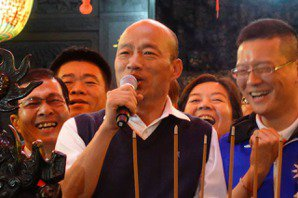 選戰超級星期天 韓國瑜今參拜士林「總統廟」