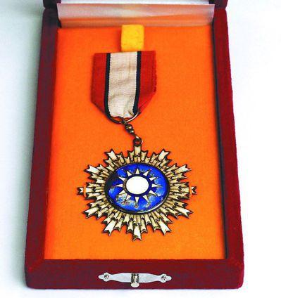 青天白日勳章有211位得主。 圖/聯合報系資料照片