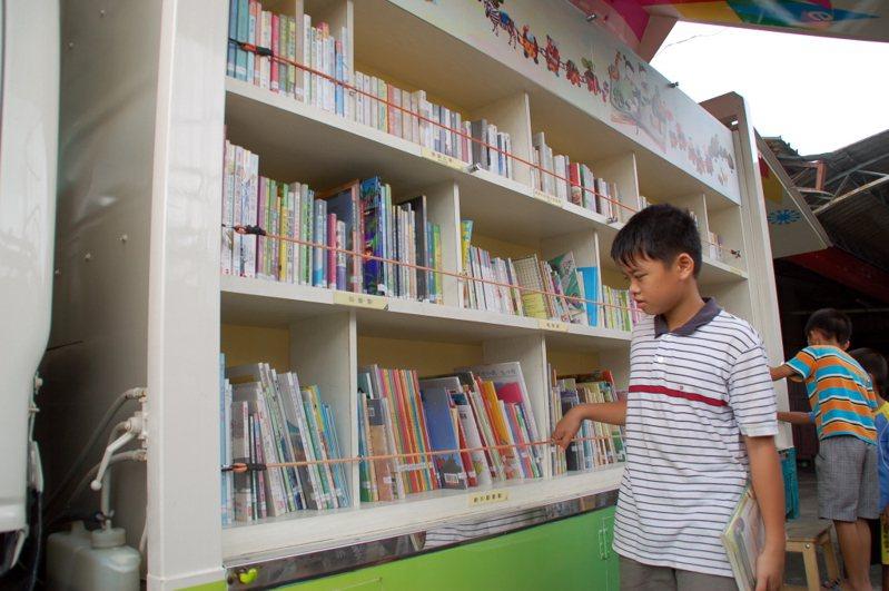 台灣今年開始「試行」圖書借閱補償金制度。圖/聯合報系資料照片