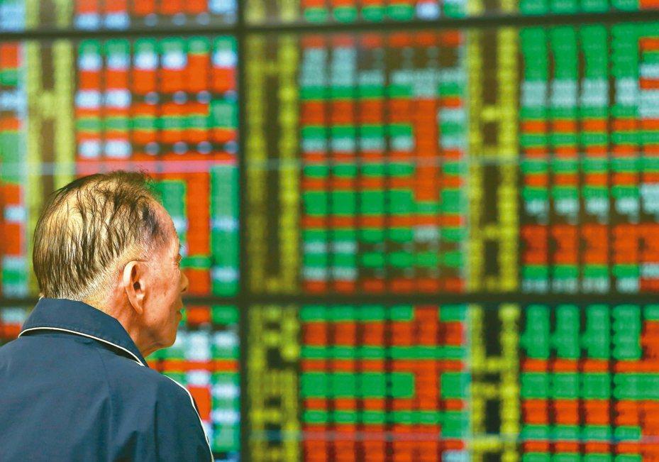 投資人擔憂中東軍事衝突一觸即發,今日台股盤中大跌百點,萬二關卡失守。 圖╱聯合報系資料照片