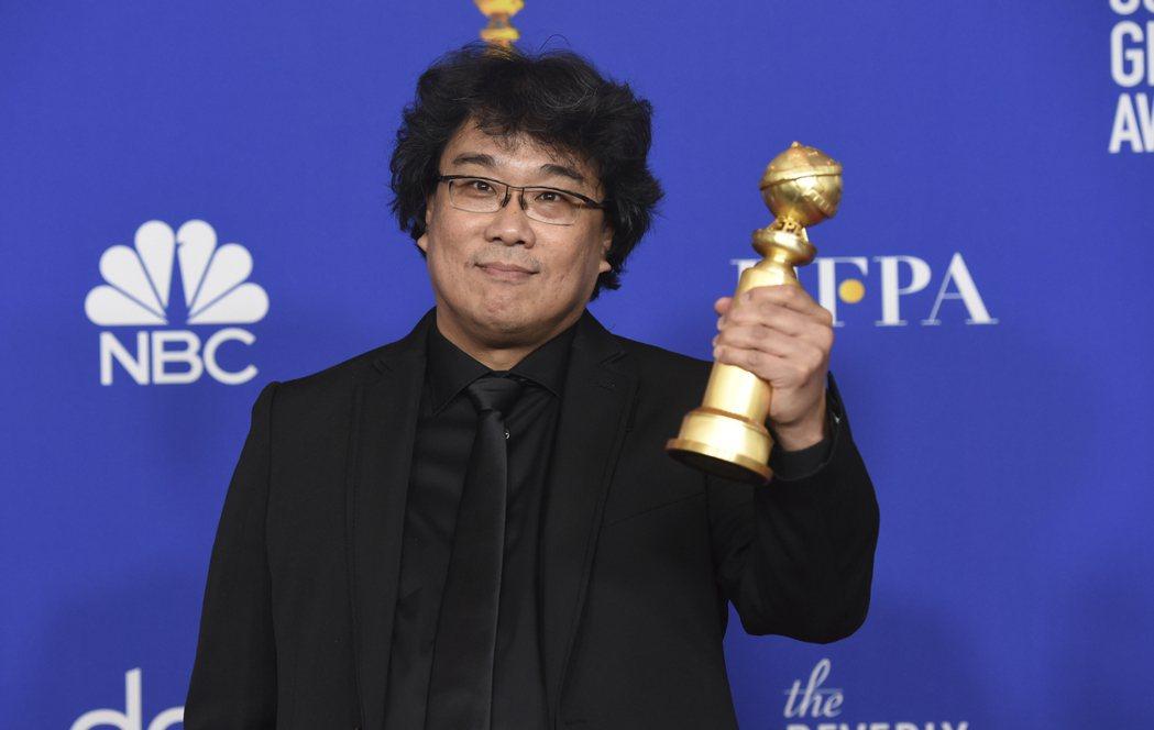 「寄生上流」勇奪第77屆金球獎最佳外語片大獎 圖/美聯社