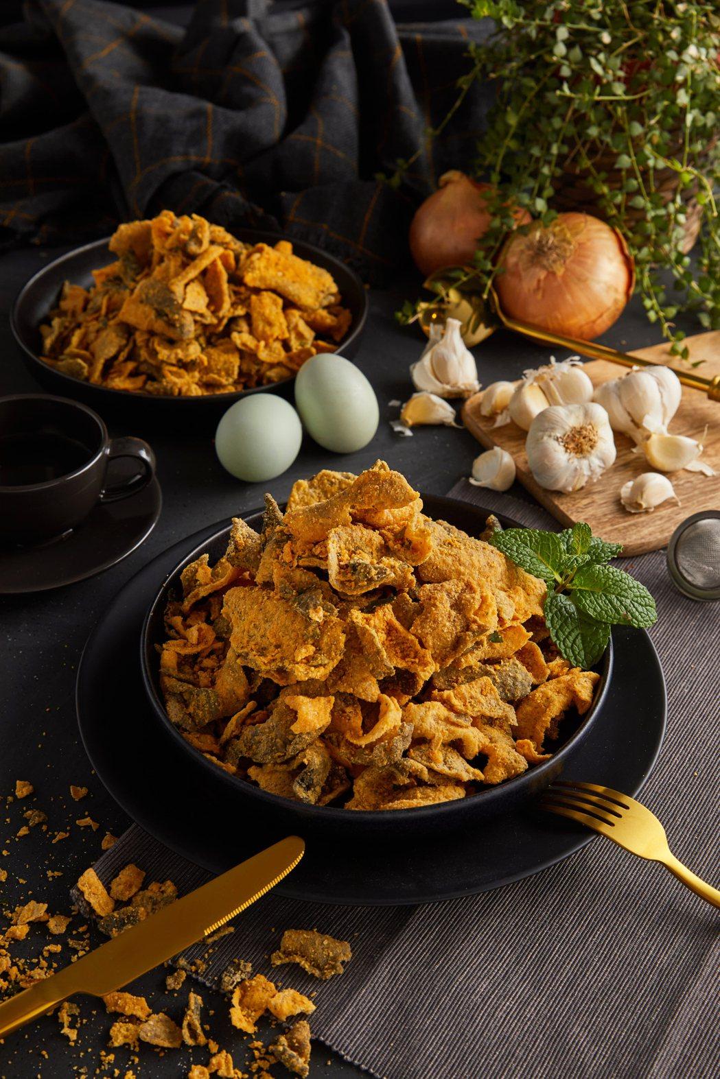 新加坡香味魚皮-原味。業者/提供
