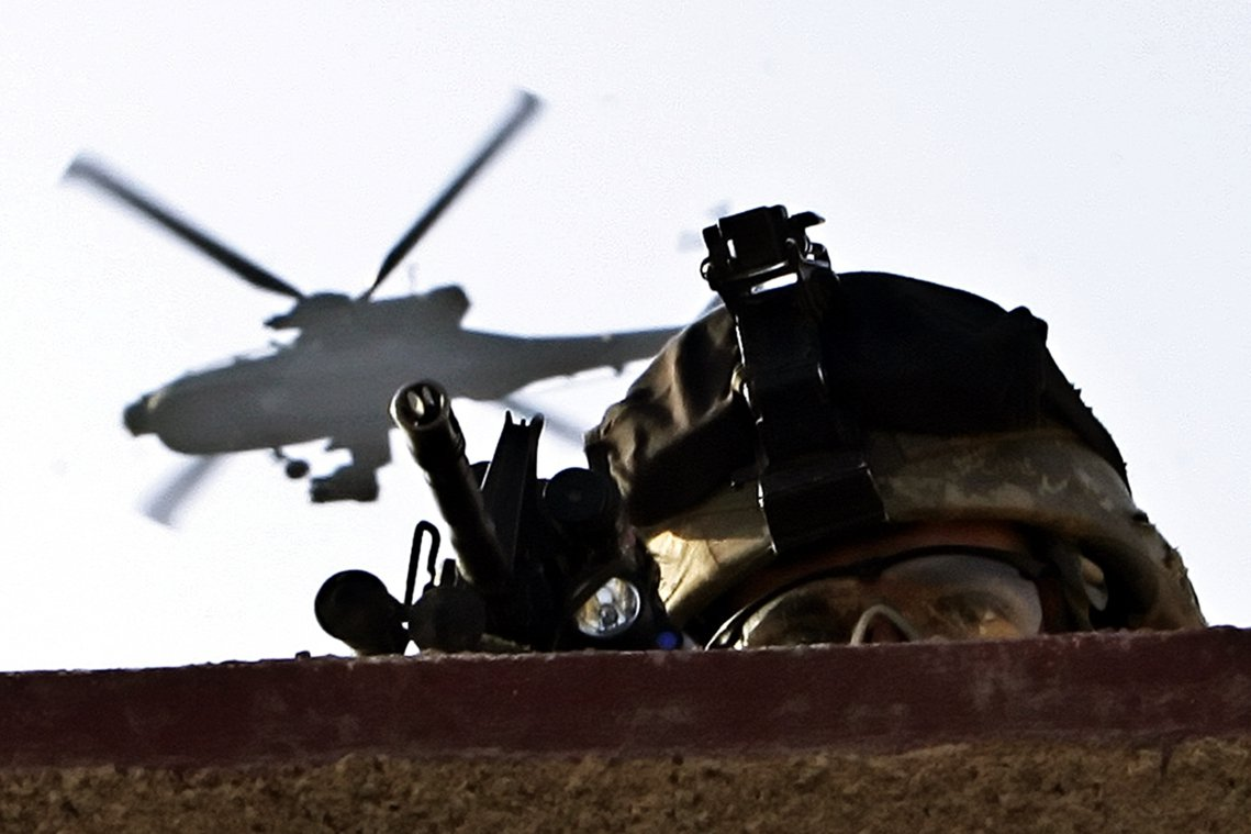 「美伊開戰的距離,還有多遠?」圖為駐伊美軍資料照片。 圖/美聯社