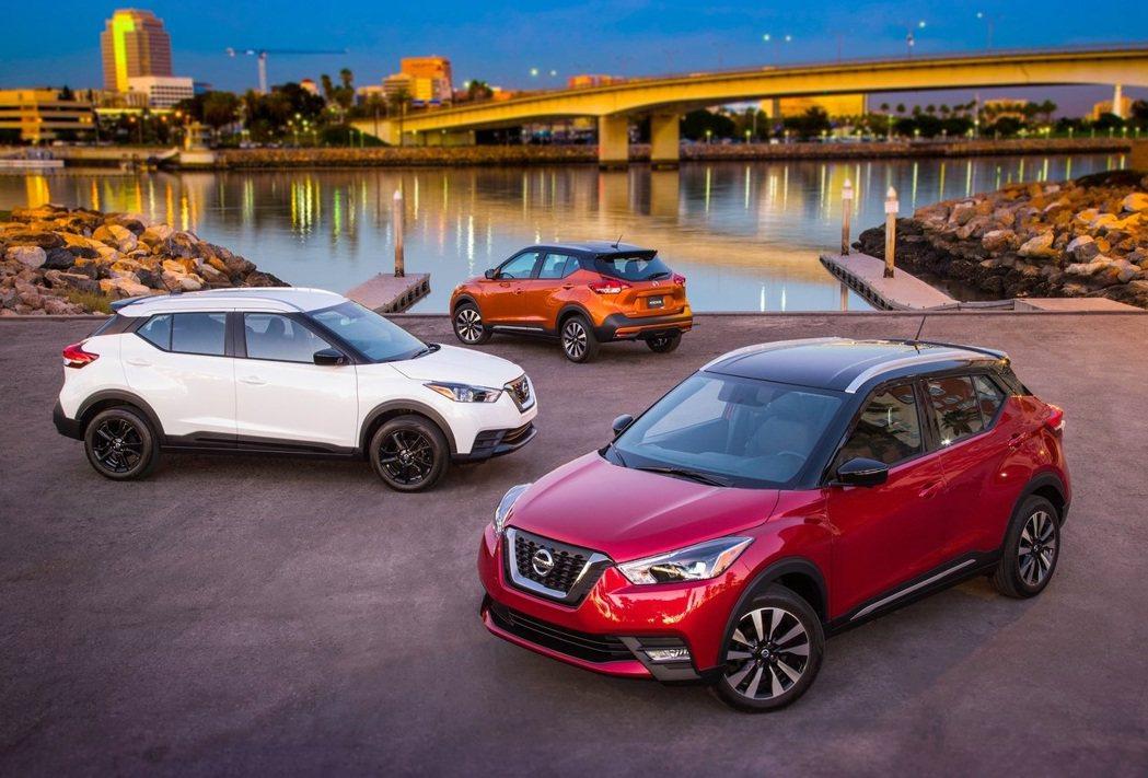 Nissan Kicks銷量暴增近1倍。 圖/Nissan提供
