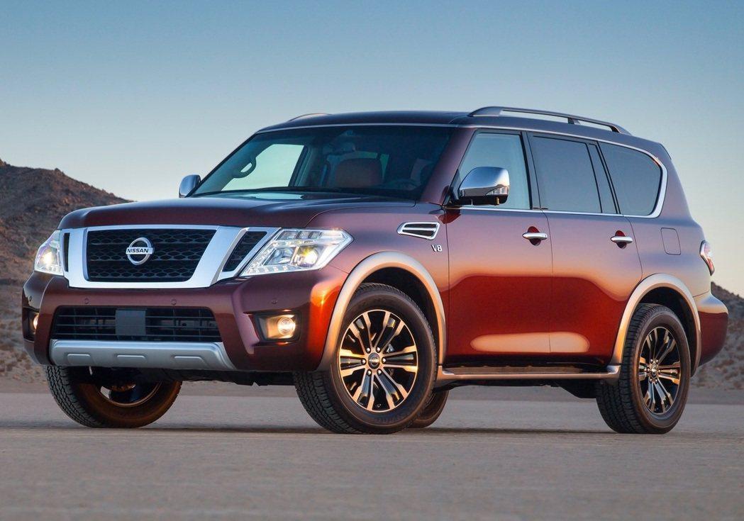 Nissan Armada全尺寸SUV。 圖/Nissan提供