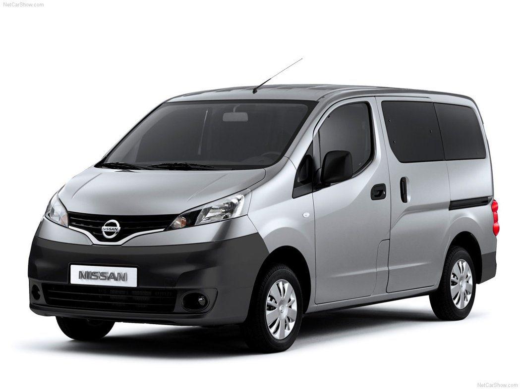 Nissan NV200商用車系。 圖/Nissan提供
