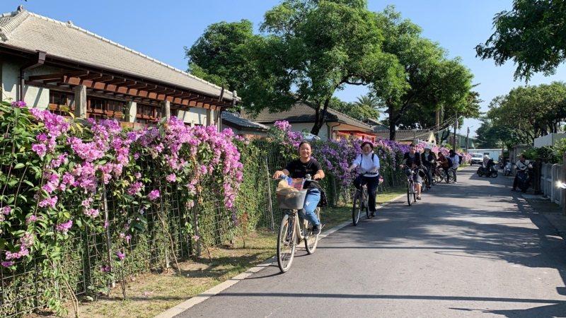 位於屏東市區的勝利新村是一條適合橘世代的漫遊路線。 圖/翁禎霞攝影