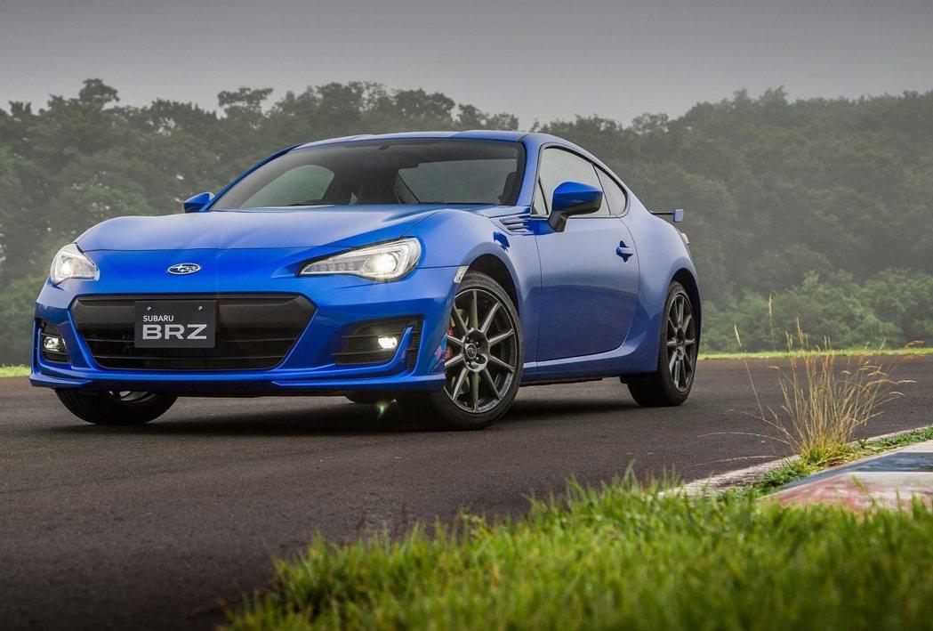 BRZ則是整年僅賣了2千多輛,銷量十分慘淡。 圖/Subaru提供