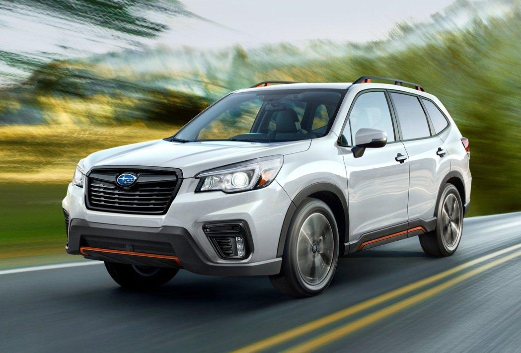 Forester今年的銷量則是創歷史新高。 圖/Subaru提供