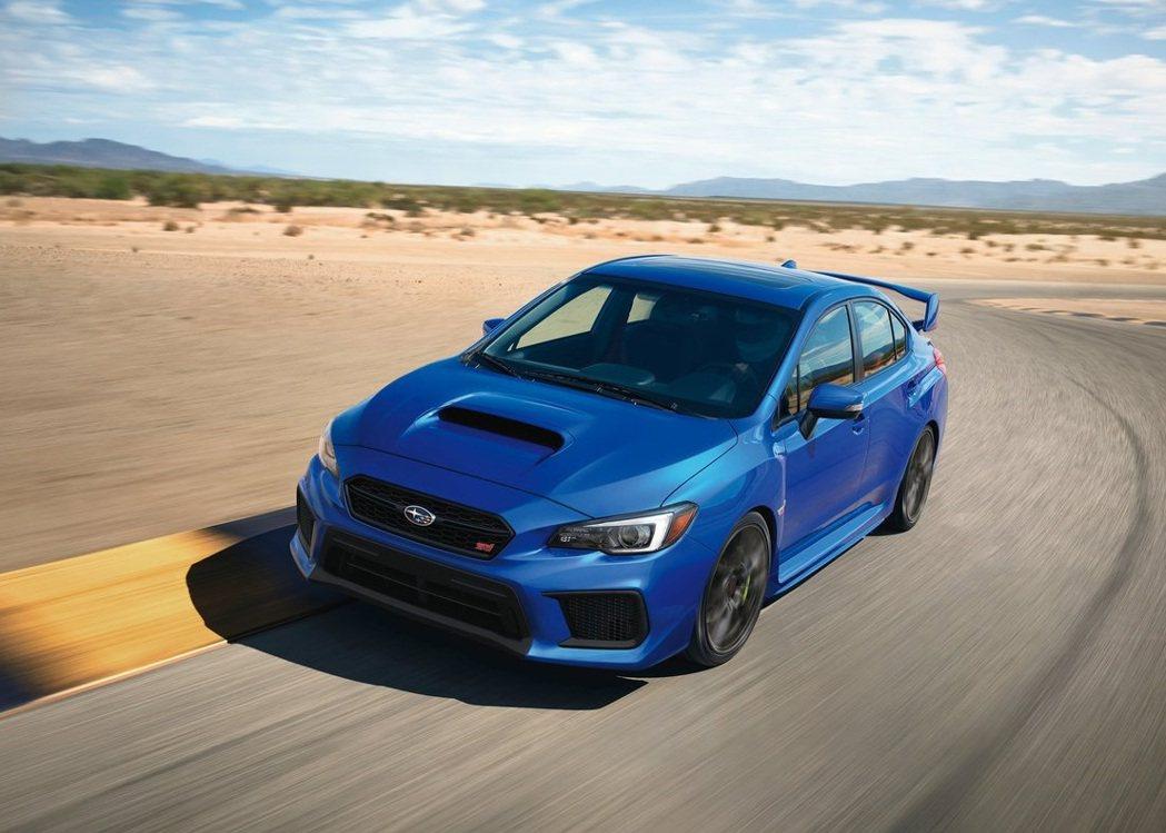 Subaru WRX/STI則是處於產品末期。 圖/Subaru提供