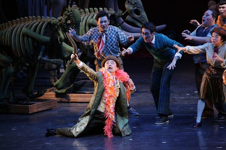 台韓共製音樂劇「Musical TARU!恐龍復活了!」將於2020年1月17日台北國家戲劇院、2月15日於台中歌劇院演出。圖/AM創意提供