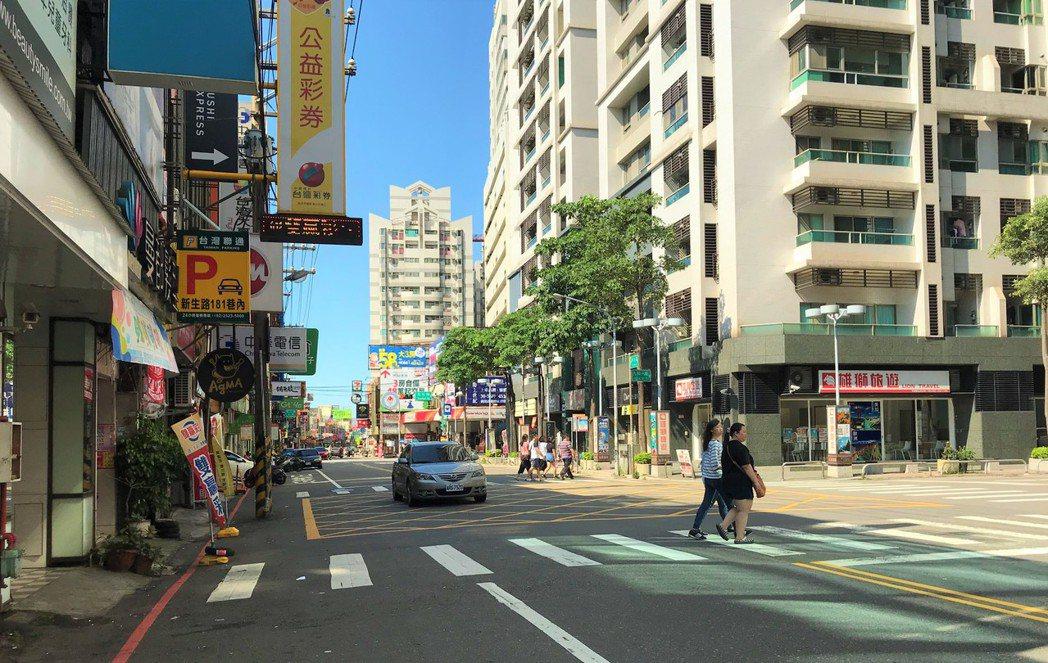 桃園市街景。記者游智文/攝影