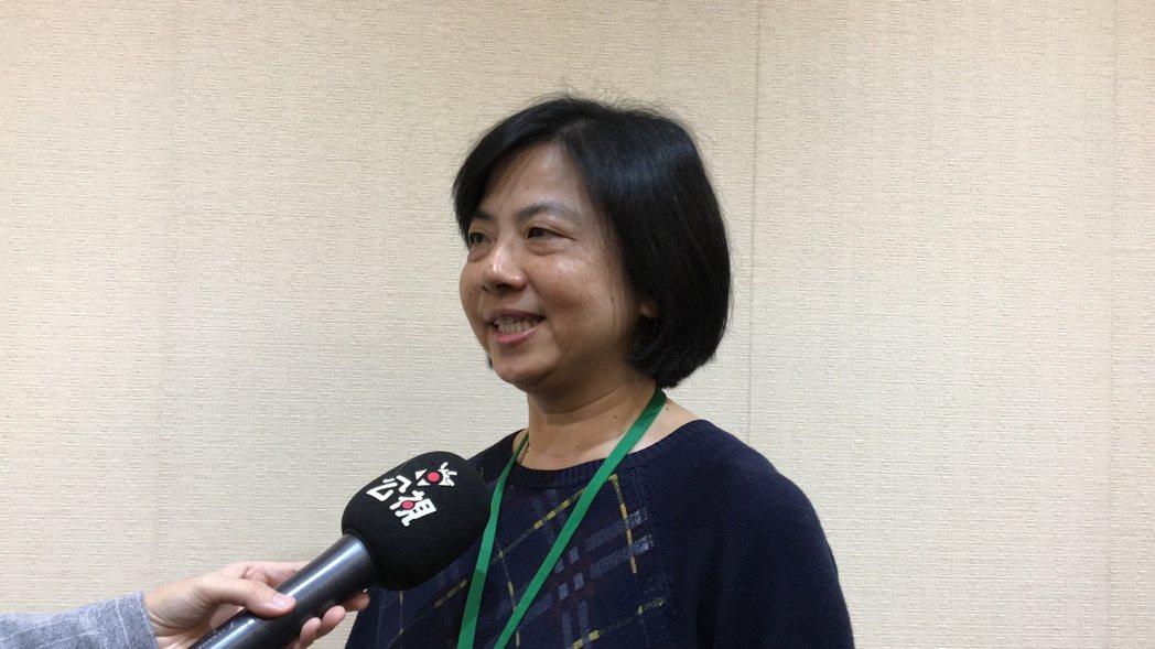 台灣大學環境工程學研究所助理教授顏秀慧。記者林孟潔/攝影