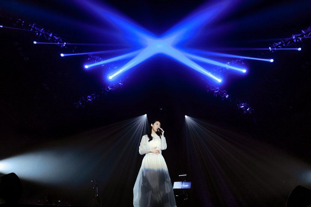 王若琳在上海展開「愛的呼喚」巡演。圖/索尼提供