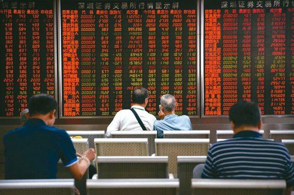 陸股去年獲外資買超逾500億美元,稱冠亞洲股市。 本報系資料庫