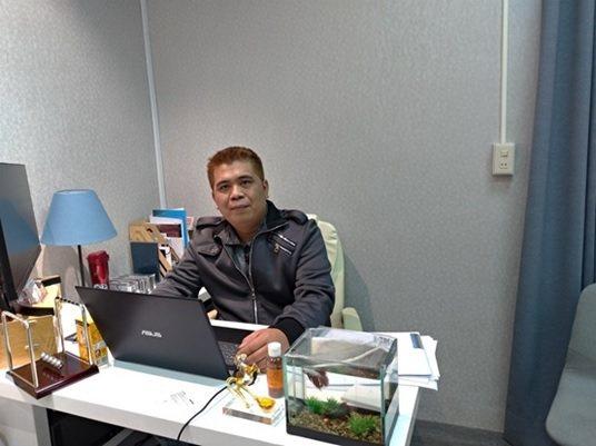 紫金園科技執行長林冠樺。 楊連基/攝影