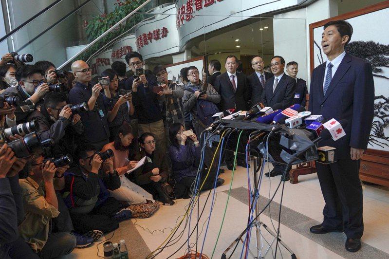 駱惠寧首亮相沒提「止暴制亂」 評論稱鬥爭意味盡量放緩 美聯社
