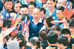大咖搶占中台灣 倒數4天藍綠橘重兵集結