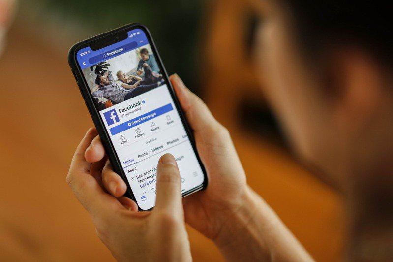 社群平台臉書(Facebook)。 歐新社