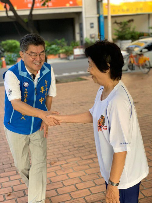 台中市第六選區國民黨李中。記者喻文玟/攝影