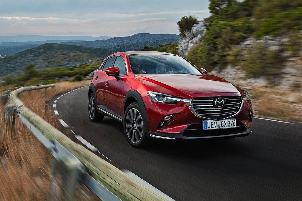 英國Mazda新車網頁,日前發現不再提供CX-3相關資訊。 圖/Mazda提供