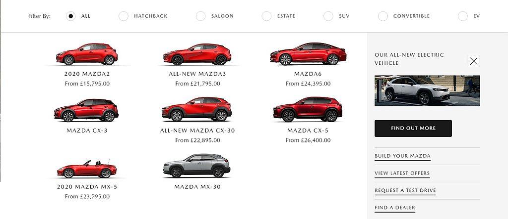 英國Mazda新車網站上CX-3已經不再提供售價並提及新車已經暫停供應,關於現有...