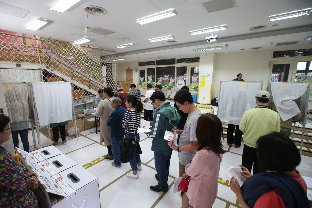 2020總統暨立委選舉1月11日進行投票。示意圖/聯合報系資料照