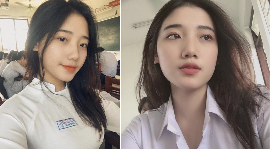 一名網友在PTT表特版PO出一組越南學生正妹的照片,清純的顏值擄獲了一票男性粉絲