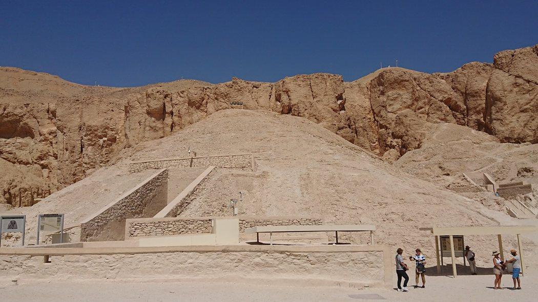 KV62圖坦卡門陵墓外觀