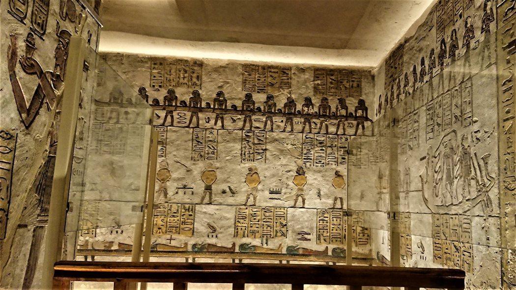 KV11拉美西斯三世墓穴浮雕