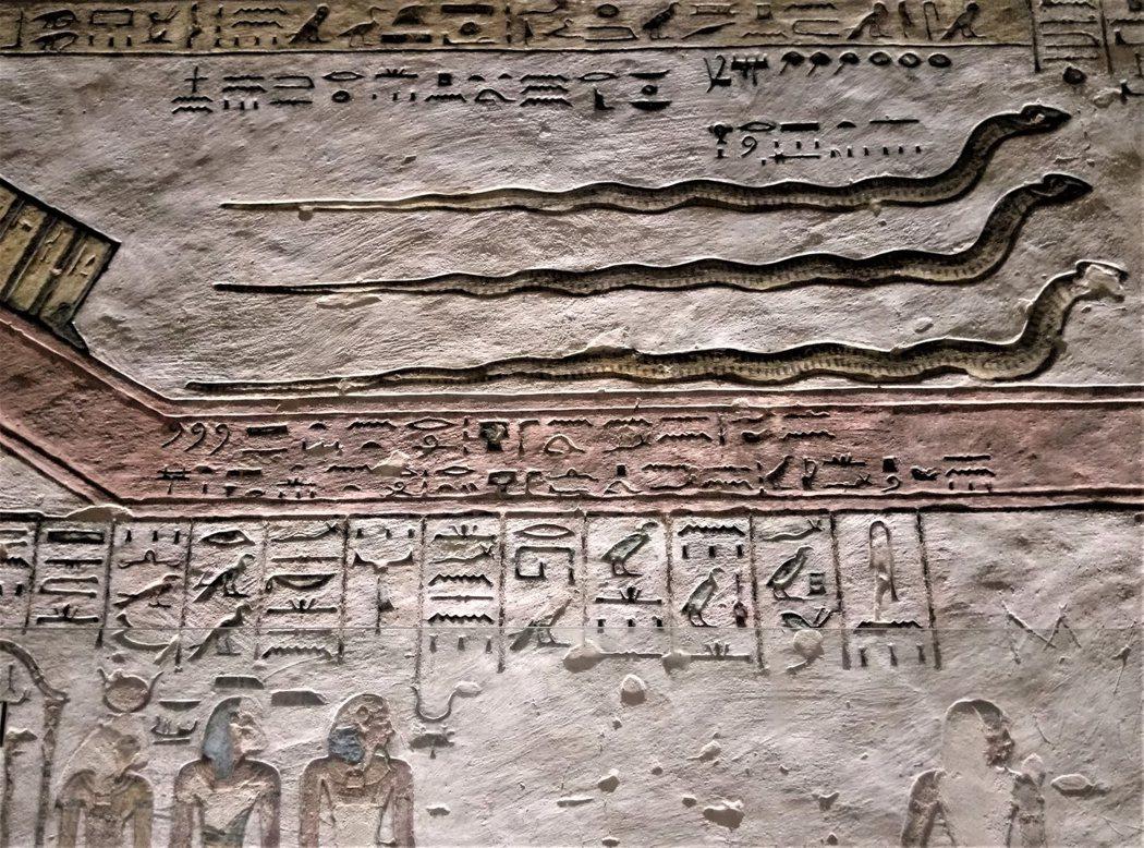 KV11蛇神浮雕壁畫
