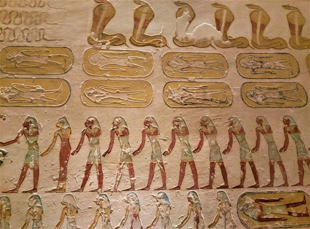 KV2拉美西斯四世墓穴浮雕