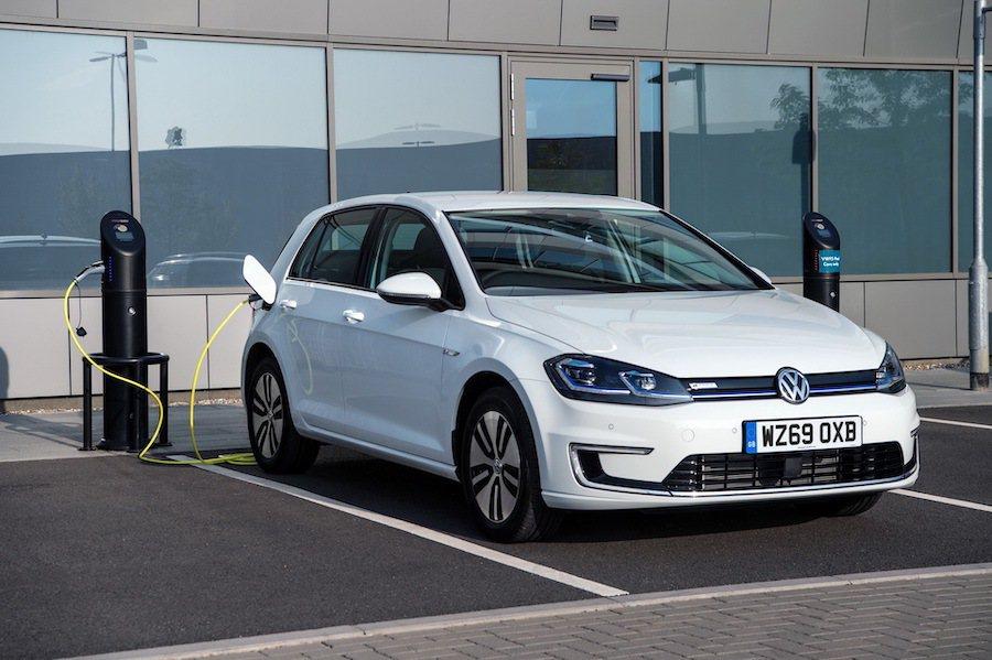 Volkswagen e-Golf。 Volkswagen提供