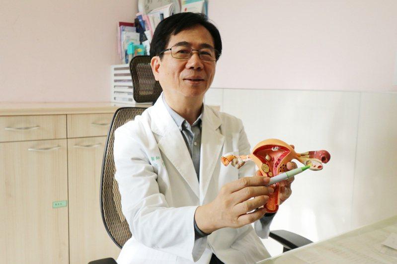 亞洲大學附屬醫院婦產部主治醫師張茂森指出,以女性生殖內分泌學的角度而言,女性一生會遇到三次危機,第一次是青春期,第二次是懷孕期,第三次是更年期。圖/亞洲大學附屬醫院提供
