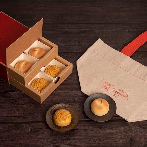 新年限定「平安旺來禮盒」成功抓住粉絲目光。圖/SOGO提供