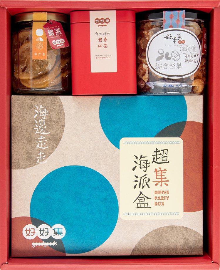 好好集推出新品「好好迎春禮盒」。圖/新光三越提供