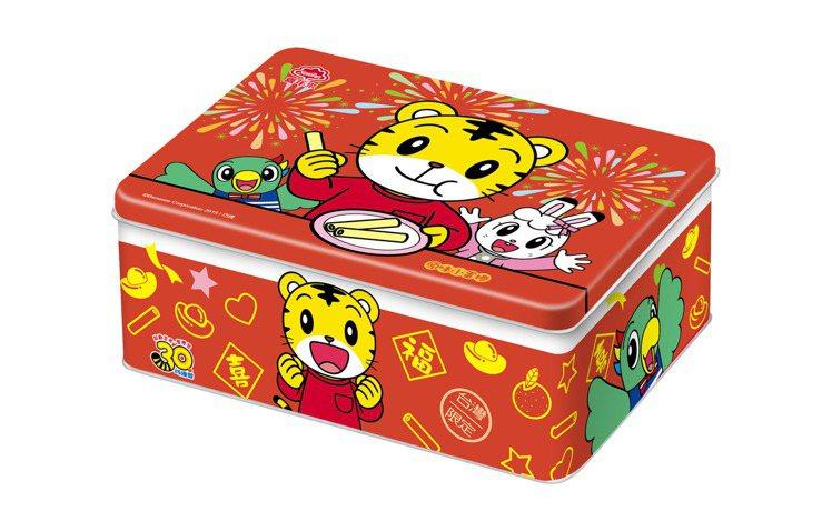 孩童界高人氣商品「喜年來巧虎原味小蛋捲禮盒」。圖/統一提供