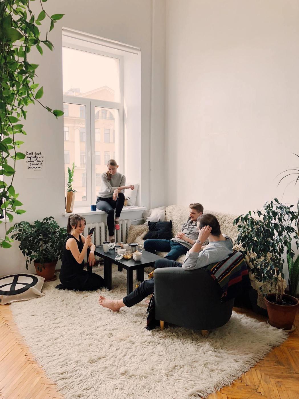沙發不要買淺色的。圖/摘自StockSnap