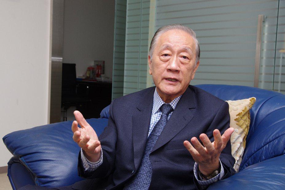 新黨黨主席郁慕明。記者程嘉文/攝影