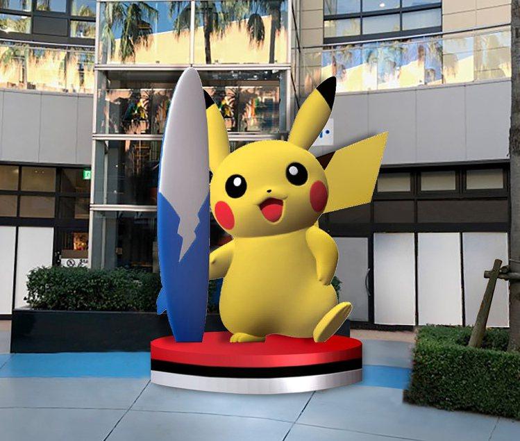 三井購物園區 LaLaport東京灣將設置一座4公尺高的「超大!衝浪皮卡丘」雕像...