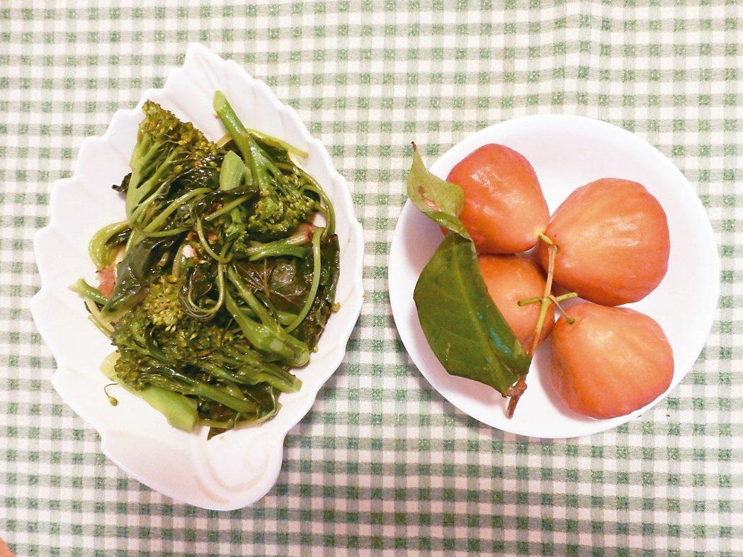 吃太多油膩食物時,下一餐我會燙一大盤地瓜葉來吃,很快的,就能把囤積在體內的廢物清...