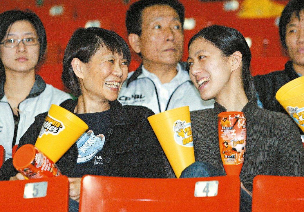 周美青(左)與馬唯中,常因馬英九的總統身分受關注。圖/聯合報系資料照片