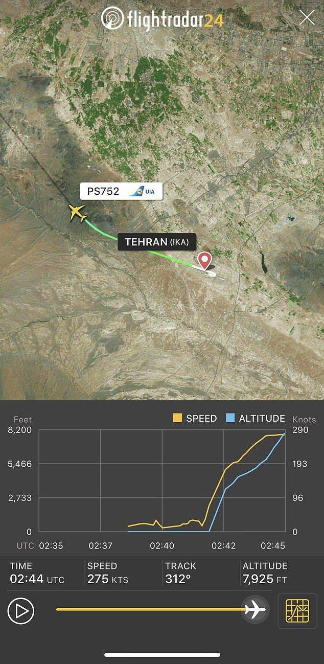 此為失事飛機航線圖。圖擷自英國每日郵報
