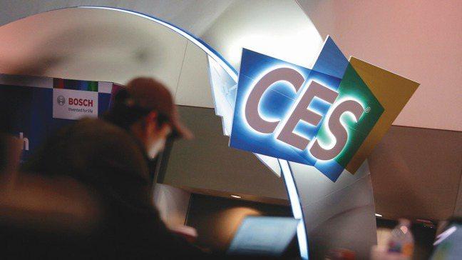 一年一度的消費電子產品展(CES)7日於拉斯維加斯登場。圖/美聯社