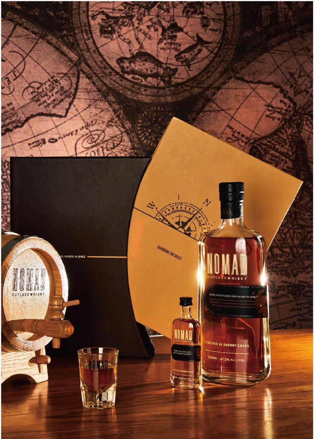 nomad雪莉雙桶威士忌書形禮盒建議售價1250元。業者/提供